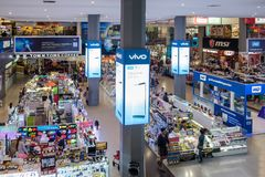 Pantip Plaza is the mother of all IT shops in Thailand Stock Image