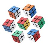 Bangkok, Thailand - November 11, 2017: Rubik`s cube three type is good for brain on a white background. Rubik`s Cube invented by a. Hungarian architect Erno royalty free stock image