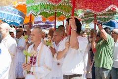 BANGKOK, THAILAND - NOVEMBER 26, 2011. series of the ordination Stock Photo