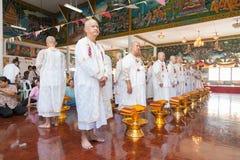 BANGKOK, THAILAND - NOVEMBER 26, 2011. series of the ordination Royalty Free Stock Photography