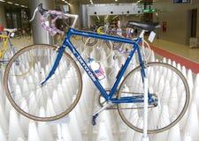 Bangkok, Thailand - November 23, 2012: Uitstekende fiets CANNONDALE Royalty-vrije Stock Foto's