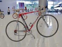 Bangkok, Thailand - November 23, 2012: Uitstekende fiets COLNAGO Royalty-vrije Stock Foto's