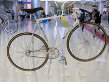 Bangkok, Thailand - November 23, 2012: Uitstekende fiets DE ROSA Royalty-vrije Stock Fotografie