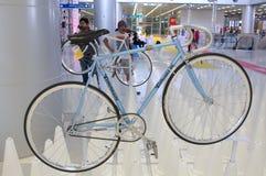 Bangkok, Thailand - November 23, 2012: Uitstekende fiets TOMMASINI Royalty-vrije Stock Afbeeldingen