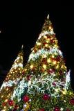 BANGKOK, THAILAND - NOVEMBER 21, 2017: Vrolijke Kerstmis en Gelukkig Stock Afbeeldingen