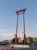 Bangkok, Thailand-October 4, 2014: Giant Swing Stock Image
