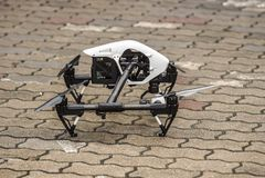 Bangkok Thailand - October 11: image of DJI Inspire 1 drone quad stock photography