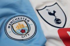 BANGKOK, THAILAND - OCTOBER 23: The Logo of Manchester City and
