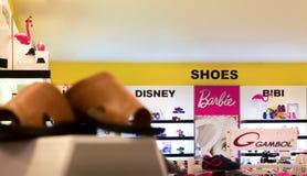 BANGKOK, THAILAND - OCTOBER 29: The Mall Bangkhae shoe departmen Royalty Free Stock Photography