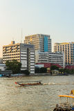 Bangkok, Thailand - October 14, 2016: Siriraj Hospital view from Stock Photography