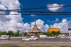 BANGKOK, THAILAND - OKTOBER 23,2017: Ansicht des Museums konzentrierte sich auf das Militär, mit Vergangenheitskriegen der Ausste Stockbild