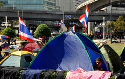 Bangkok, Thailand: Operation Shut Down Bangkok Protest Stock Photos