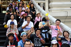 Bangkok, Thailand: Operation Shut Down Bangkok Protestors Royalty Free Stock Photo