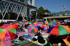Bangkok, Thailand: Operation Shut Down Bangkok Protestors Stock Photography