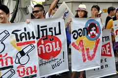 Bangkok, Thailand: Operation Shut Down Bangkok Protestors Stock Photo
