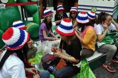 Bangkok, Thailand: Operation Shut Down Bangkok Protestors Royalty Free Stock Photography
