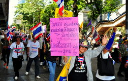 Bangkok, Thailand: Operation Shut Down Bangkok Protestors Stock Photos