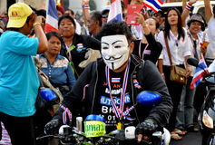 Bangkok, Thailand: Operation Shut Down Bangkok Protestors Royalty Free Stock Images