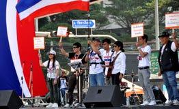 Bangkok, Thailand: Operation Shut Down Bangkok Protestors Royalty Free Stock Images