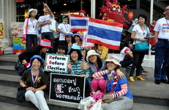 Bangkok, Thailand: Operation Shut Down Bangkok Protestors Royalty Free Stock Photos