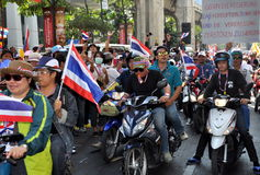 Bangkok, Thailand: Operation Shut Down Bangkok Protestors Stock Photography