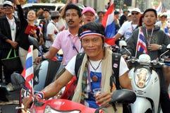 Bangkok, Thailand: Operation Shut Down Bangkok Protestors Royalty Free Stock Image