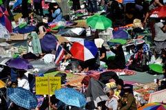 Bangkok, Thailand: Operation Shut Down Bangkok Protestors Stock Images