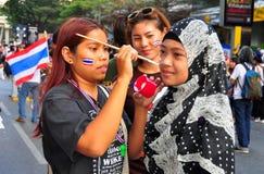 Bangkok, Thailand: Operation Shut Down Bangkok Protestors Stock Image