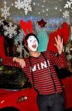 Bangkok, Thailand: Pantomime an der zentralen Welt Lizenzfreie Stockfotografie