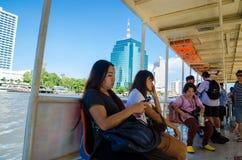 Bangkok, Thailand : passenger in boat Royalty Free Stock Photos
