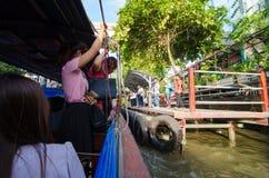 ฺBangkok, Thailand : Passenger boat Stock Photos
