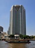 Bangkok, Thailand: Peninsula Hotel Stock Images