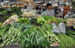 Free Bangkok, Thailand: Produce At Market Hall Stock Photography - 22542612