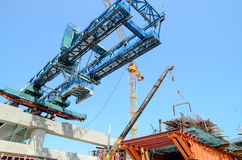 Bangkok, Thailand: Railway Construction Stock Image
