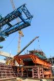 Bangkok, Thailand: Railway Construction Royalty Free Stock Images