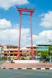 Bangkok, Thailand: Reise am riesigen Schwingen Stockbilder
