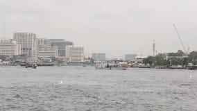 Bangkok, thailand, river, city. Bangkok, thailand, river city asia architecture water stock video