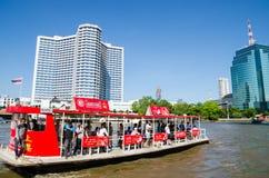 Bangkok Thailand : River and city Stock Photos