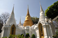 Bangkok,Thailand: Royal Tombs royalty free stock photography