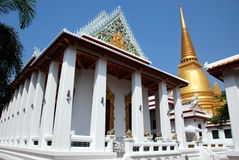 Bangkok, Thailand: Royal Wat Bowornniwet Stock Photography