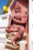 Bangkok, Thailand: Royal Wat Bowornniwet Royalty Free Stock Photo