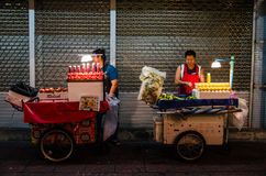 Bangkok, Thailand : Selling juice Royalty Free Stock Photos