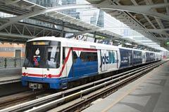 BANGKOK, THAILAND - Sep 15 2015 : The Bangkok Mass Transit Syste Royalty Free Stock Image