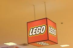 Bangkok Thailand-Sep2018: Lego zabawkarski sklep zdjęcie royalty free