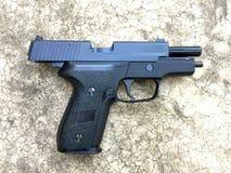 Sig sauer P228 airsoft 6 mm bullet ball pistol gun Stock Images