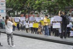 Bangkok,Thailand : september 26, 2016 - ford car user get a flash mob at Ford Motor Company, Thailand Royalty Free Stock Photos