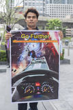 Bangkok,Thailand : september 26, 2016 - ford car user get a flash mob at Ford Motor Company, Thailand Royalty Free Stock Photography