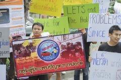 Bangkok,Thailand : september 26, 2016 - ford car user get a flash mob at Ford Motor Company, Thailand Royalty Free Stock Image