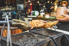 BANGKOK, THAILAND - SEPTEMBER 11, 2018 :Thai street food ,Fried stock photography