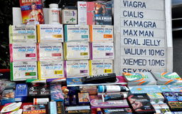 Bangkok, Thailand: Sexual Enhancement Products Stock Image